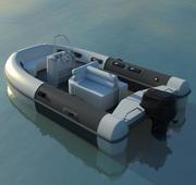 Bote salvavidas 1 modelo 3d
