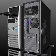 Torre del personal computer 3d model