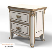 Savio Firmino classic 1987A CLASSICAL  BEDSIDE TABLE NIGHT STAND 3d model
