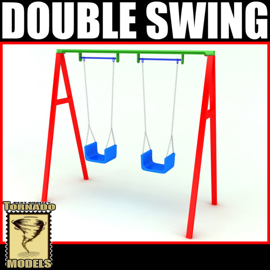Double Swing royalty-free 3d model - Preview no. 1