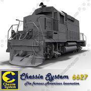 Chessie system 6627 3d model