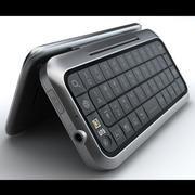 Motorola Backflip 3d model