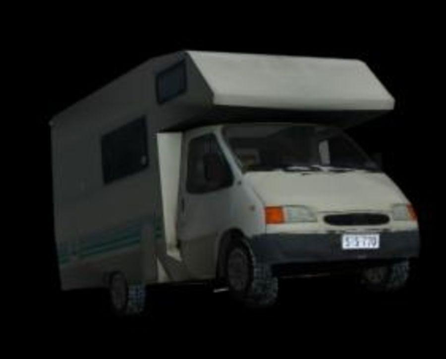 Auto camping car camping-car royalty-free 3d model - Preview no. 2
