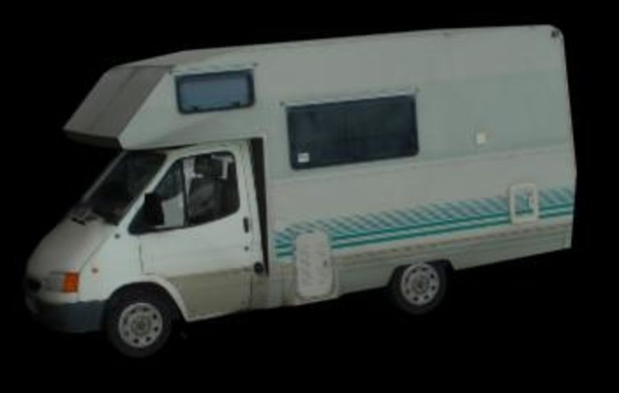 Auto camping car camping-car royalty-free 3d model - Preview no. 1