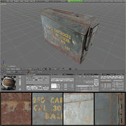 Munição BOX.blend 3d model