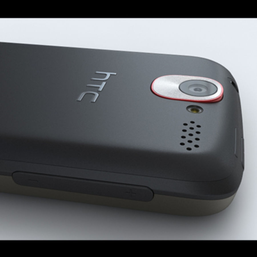 HTC Desire royalty-free 3d model - Preview no. 19