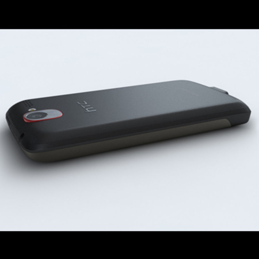 HTC Desire royalty-free 3d model - Preview no. 16