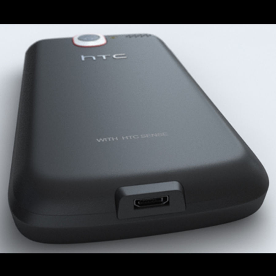 HTC Desire royalty-free 3d model - Preview no. 13