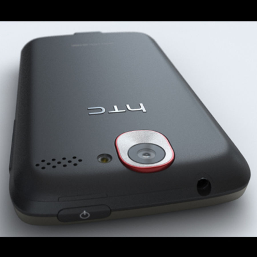 HTC Desire royalty-free 3d model - Preview no. 14