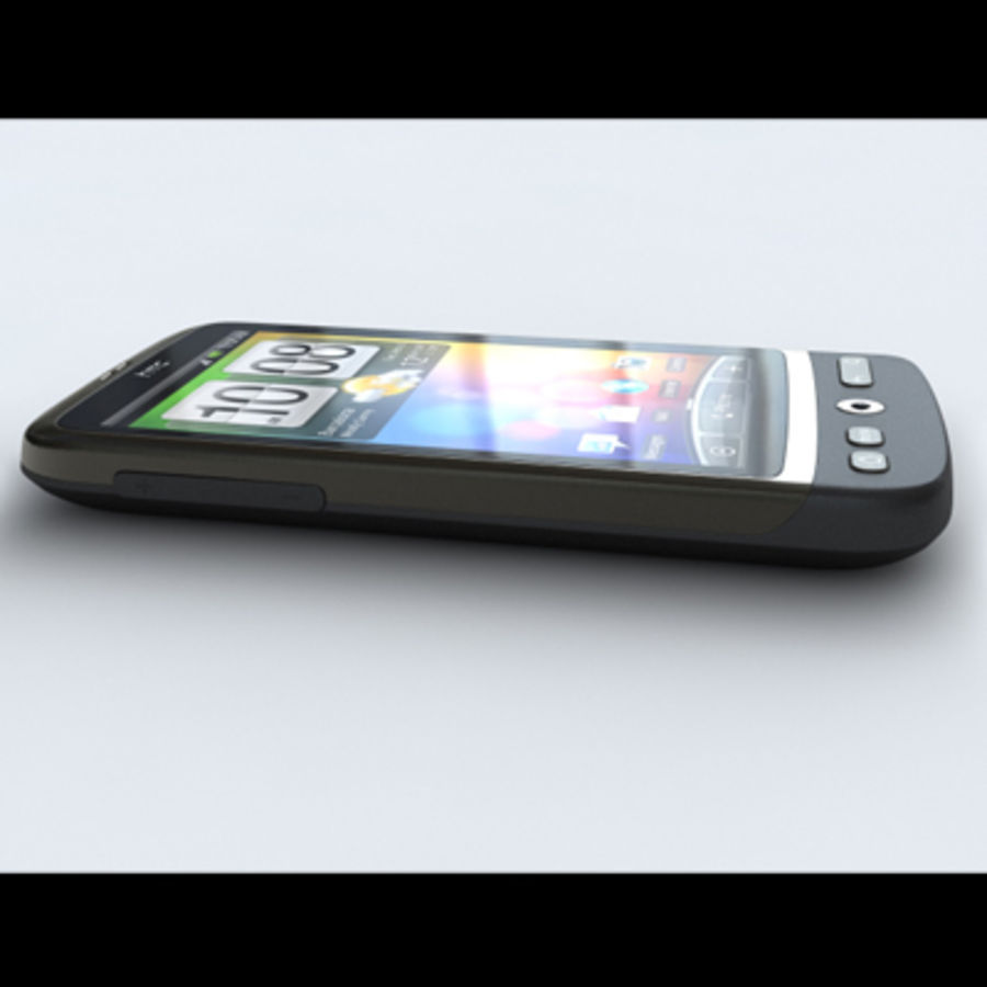 HTC Desire royalty-free 3d model - Preview no. 8