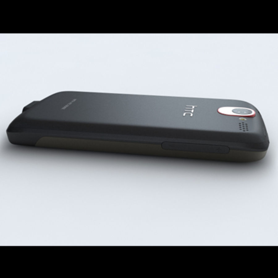 HTC Desire royalty-free 3d model - Preview no. 15