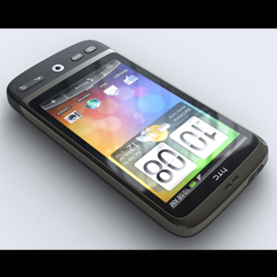 HTC Desire royalty-free 3d model - Preview no. 2