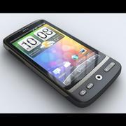 HTC Desire 3d model