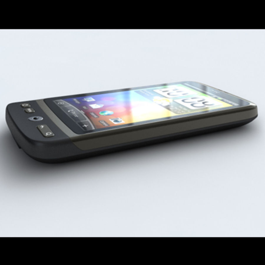 HTC Desire royalty-free 3d model - Preview no. 7