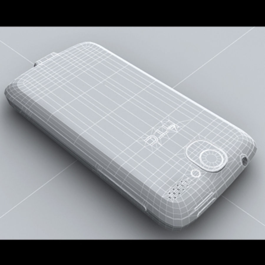 HTC Desire royalty-free 3d model - Preview no. 22