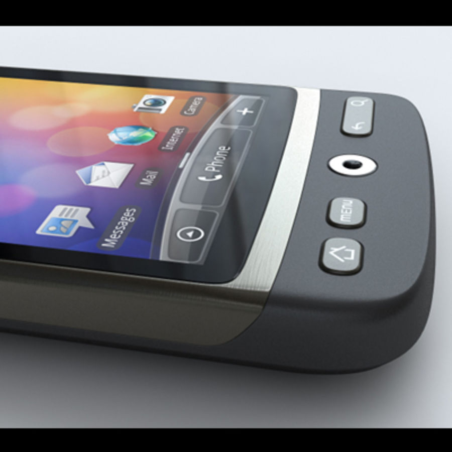 HTC Desire royalty-free 3d model - Preview no. 18