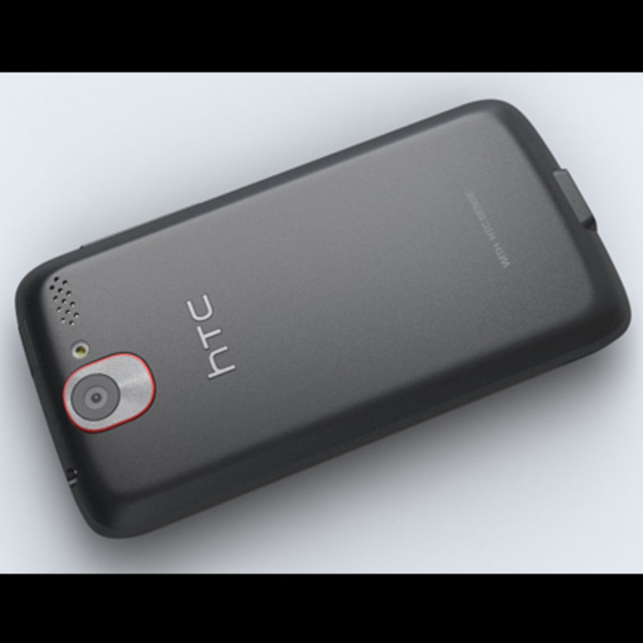 HTC Desire royalty-free 3d model - Preview no. 17