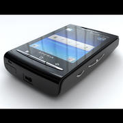 소니 에릭슨 X10 미니 3d model