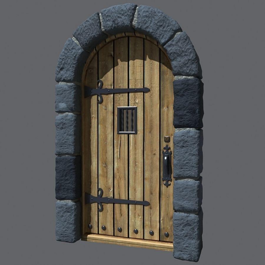 Castle Door 3d Model 20 C4d Fbx Max 3ds Free3d
