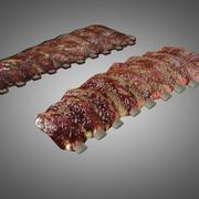 Barbecued Ribs 3d model