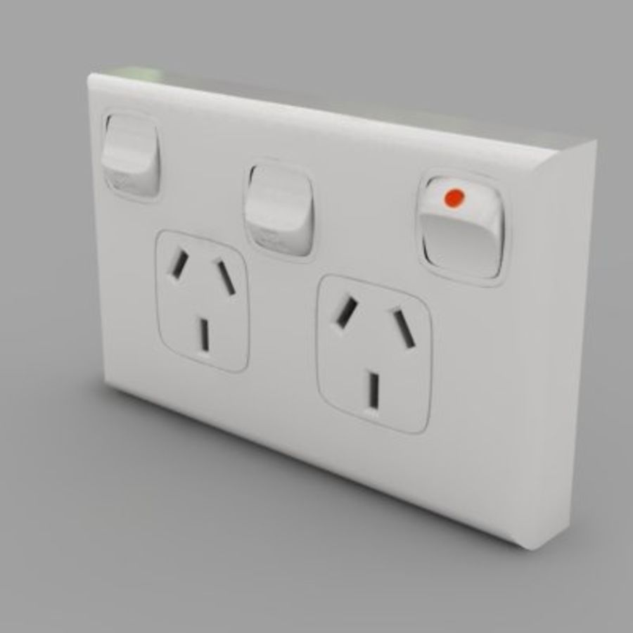 Power Point royalty-free 3d model - Preview no. 4
