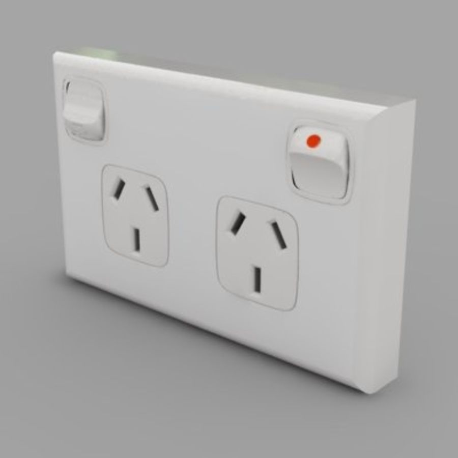 Power Point royalty-free 3d model - Preview no. 5