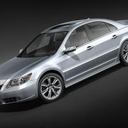 Acura RL 2009 modelo 3d