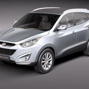 Hyundai Tucson 2011 3d model