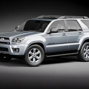 Toyota 4runner 2009 3d model