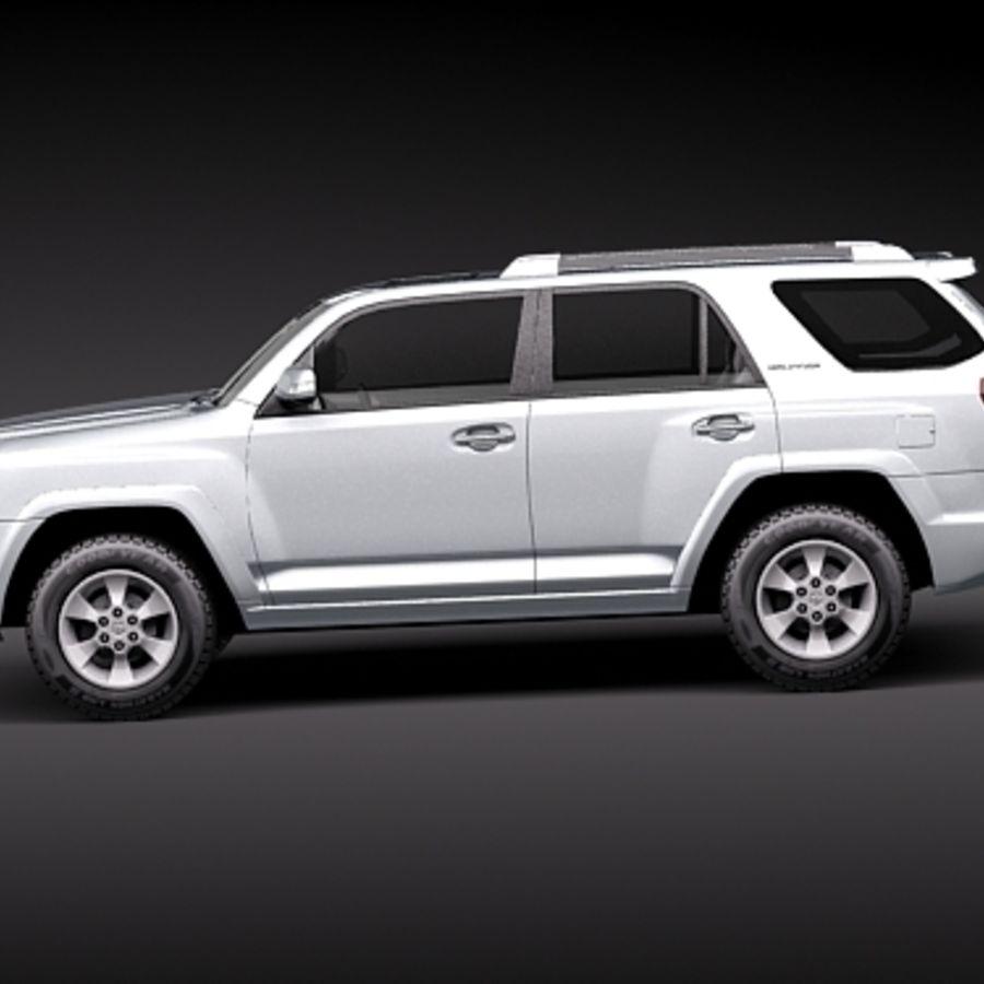 Top 100 2019 4runner Concept: Toyota 4runner 2010 3D Model $129