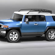Toyota Fj Crusier 3d model
