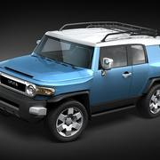 Toyota FJ cruiser lowpoly 3d model