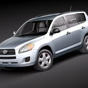 Toyota RAV4 2010 3d model