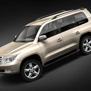 Toyota Landcruiser 2008 3d model