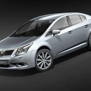 Toyota Avensis 2009 3d model