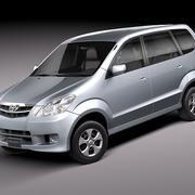 Toyota Avanza 2005-2010 3d model
