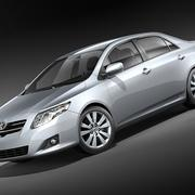 Toyota Corolla Sedan 2009 3d model