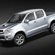 Toyota Hilux double cabine 3d model