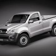 Toyota Hilux cabine simple 3d model