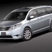 Toyota Sienna 2011 3d model