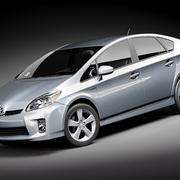 Toyota Prius 2010-2012 3d model