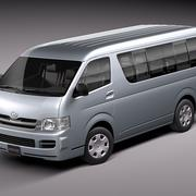 Toyota Hiace 3d model