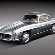Mercedes-Benz 300 SL Gullwing 3d model