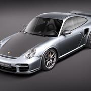 Porsche 911 GT2 RS 2011 3d model