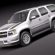 雪佛兰Tahoe Hybrid 2010 3d model