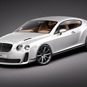Bentley Continental SuperSport 2010 3d model