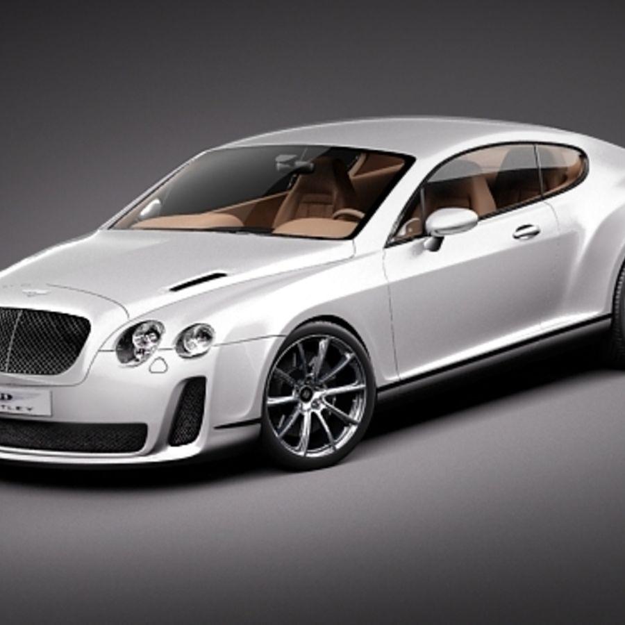 Bentley Continental Supersports 2010 3D Model $99