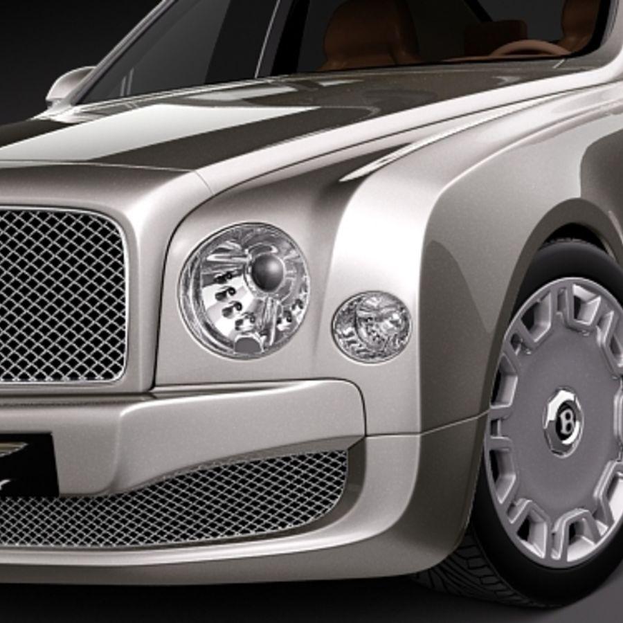 Bentley 2010: Bentley Mulsanne 3D Model $129