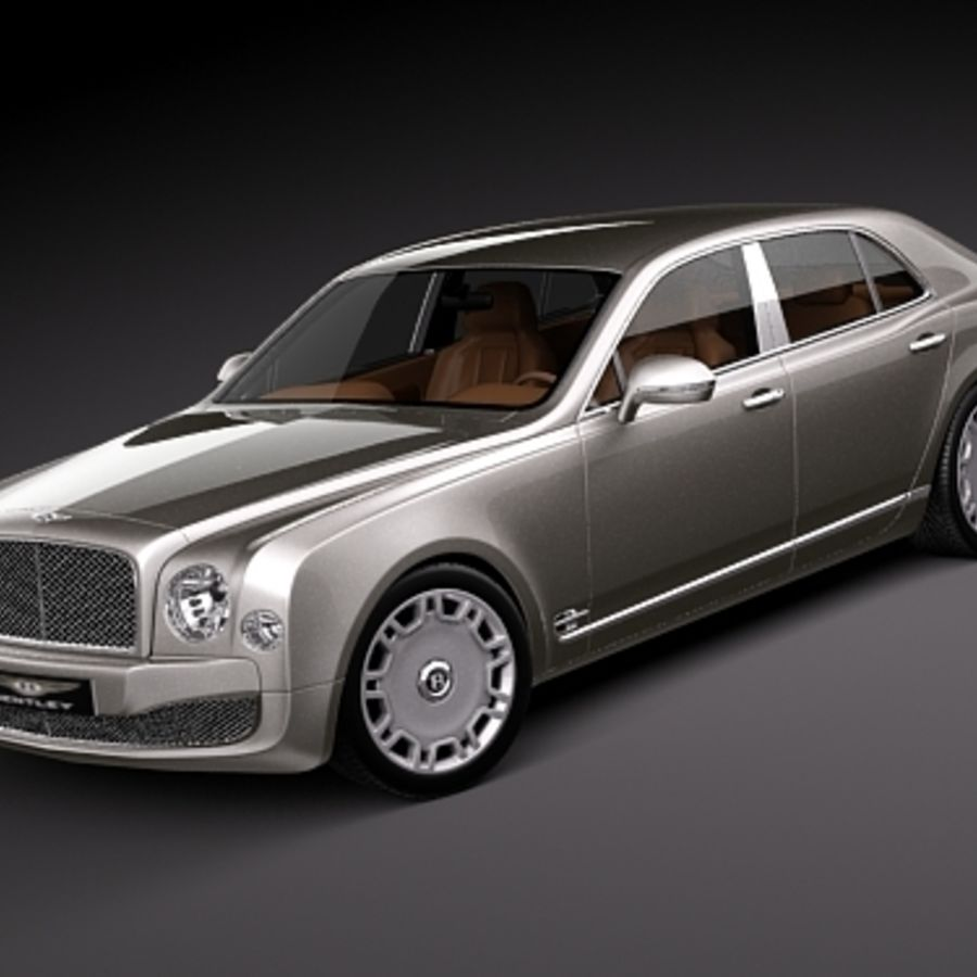 Bentley Mulsanne: Bentley Mulsanne 3D Model $129