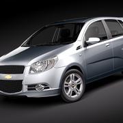 Chevrolet Aveo5 2009-2012 modelo 3d